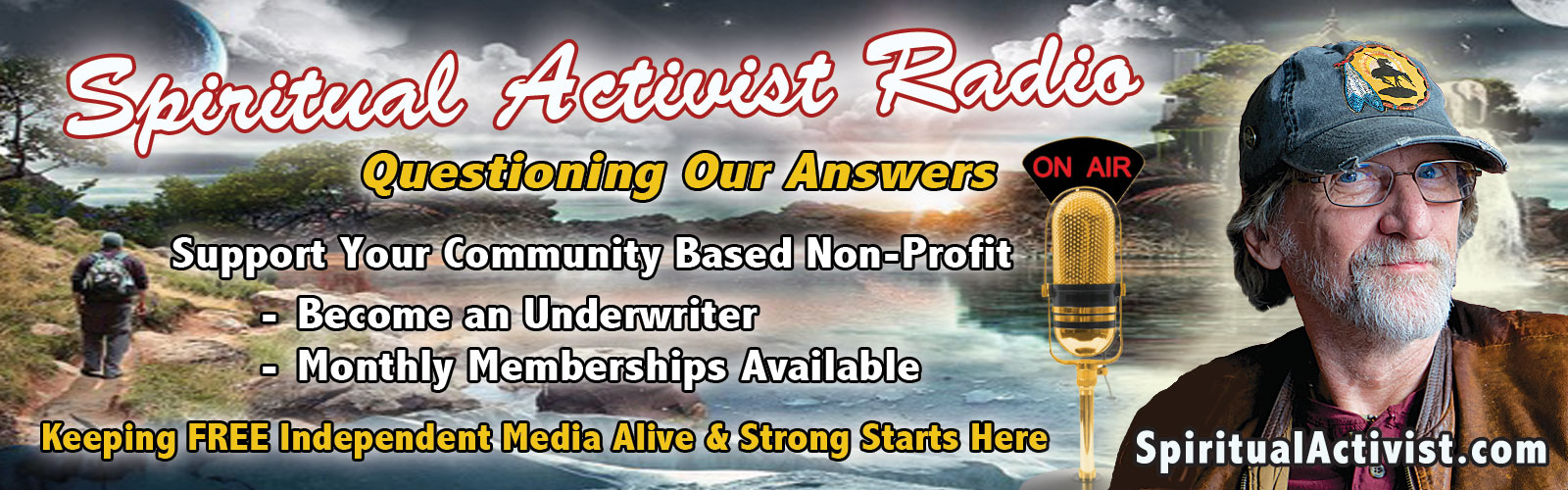 Spiritual Activist Radio with Rahasya Uncensored