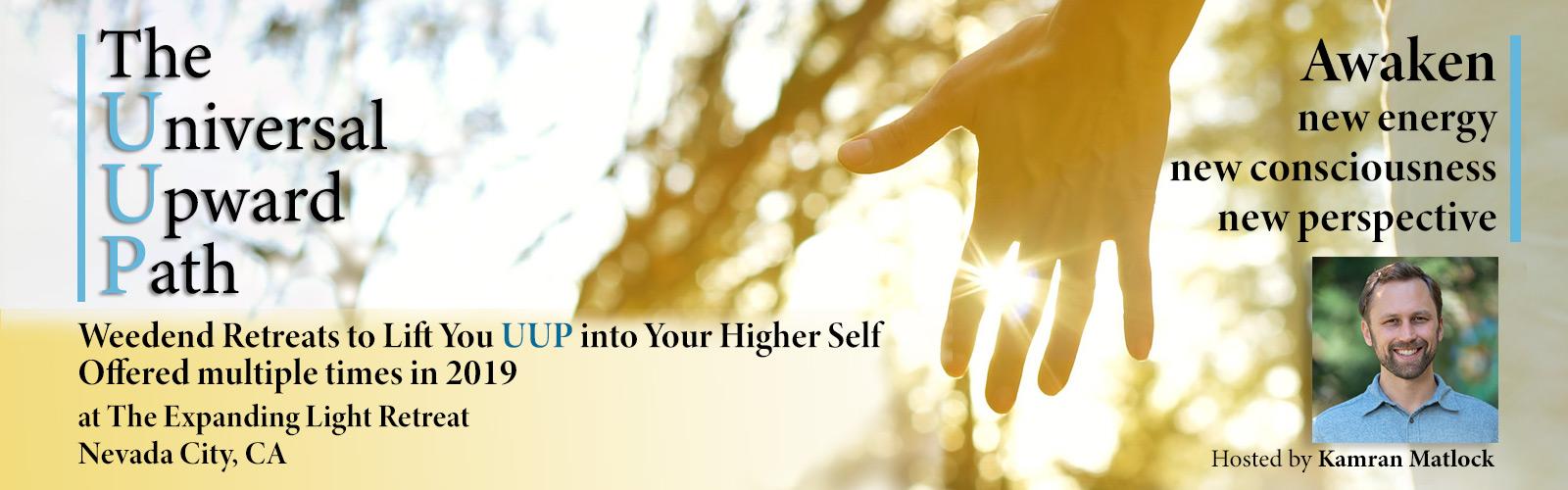 The Universal Upward Path at Expanding Light